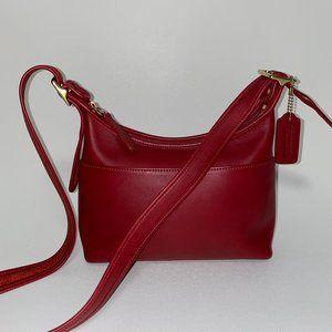 COACH leather crossbody VINTAGE bag